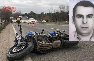 Motosikletin sürücüsü öldü, çarptığı kişi...