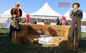 """""""10. Tarım ve Teknoloji Günleri Fuarı"""" açıldı"""