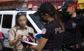 Maske takmayanlara para cezası