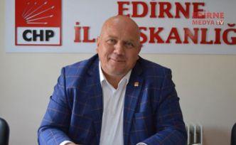 CHP Edirne Örgütünden Genel Başkana destek