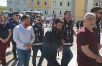 8 kişi tutuklandı