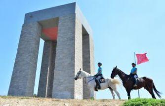 Tarihi yarımadanın atlı timi