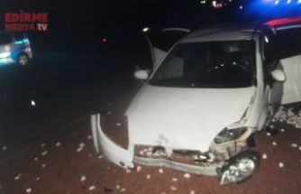 Feci kazada 8 kişi yaralandı