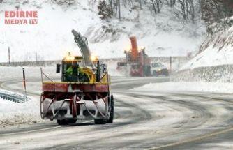 Köy yolları ulaşıma kapandı