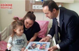 Hastanede çocuk oyun alanı açıldı