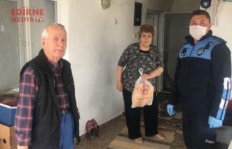 Enez Belediyesinden etkin mücadele