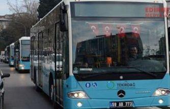 Toplu taşıma durduruldu