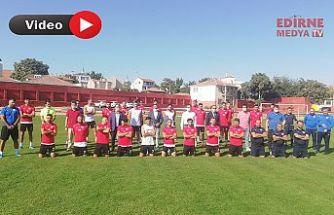Edirnespor, Hopa maçı için pusuya yattı