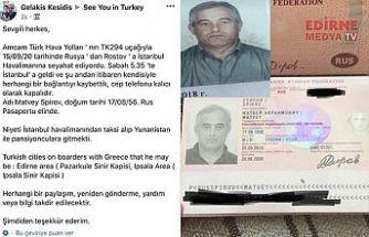 Rusya'dan geldi, Türkiye'de kayboldu