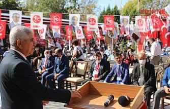 MHP Edirne İl Başkanlığına Zakir Tercan yeniden seçildi