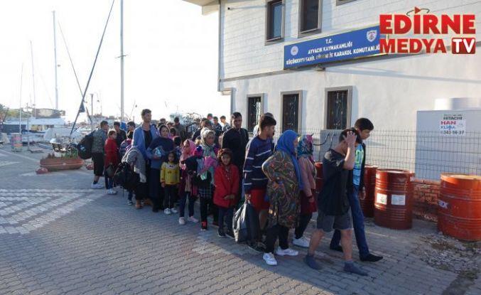 274 düzensiz göçmen yakalandı