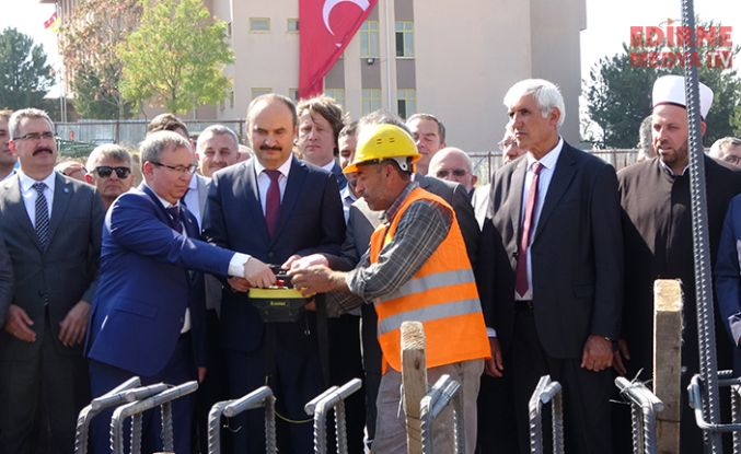 Trakya Üniversitesi Külliyesi Cami temeli atıldı