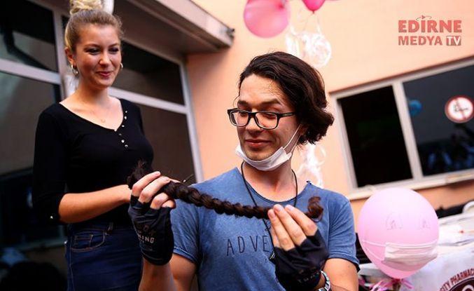 Saçlarını 4 yıldır uzatıyordu...