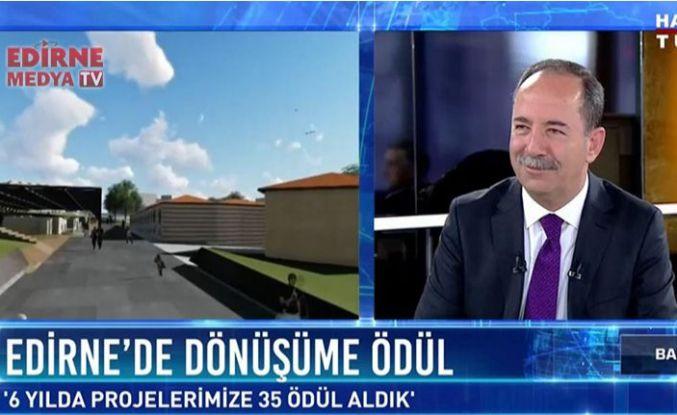 Gürkan Habertürk'te projeleri anlattı
