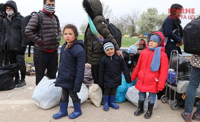 Sığınmacılar geri gönderiliyor