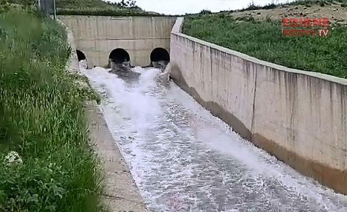 Çeltik üreticilerine su desteği