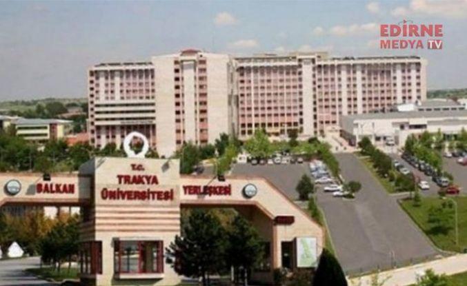 Trakya Üniversitesinde heyecan dorukta