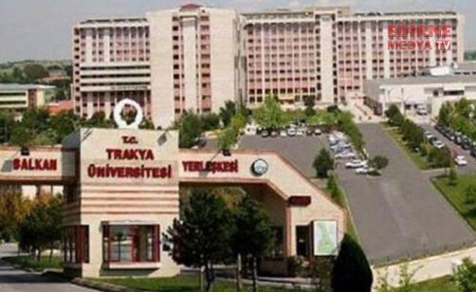 Trakya Üniversitesi sıralamalarda aşağıya düşüyor