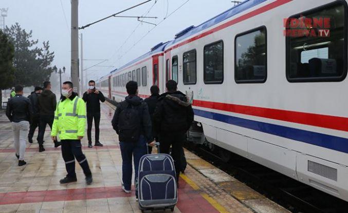 Bölgesel tren seferleri yeniden başladı