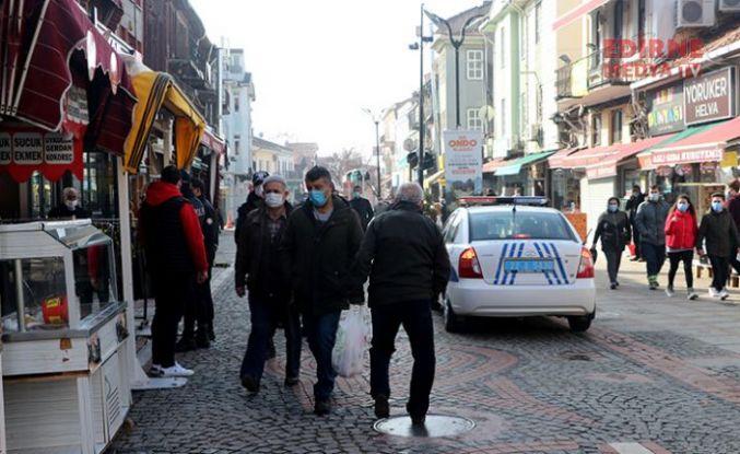 """""""Edirne kırmızısı markamız, Kovid kırmızısı mücadelemiz olsun"""""""