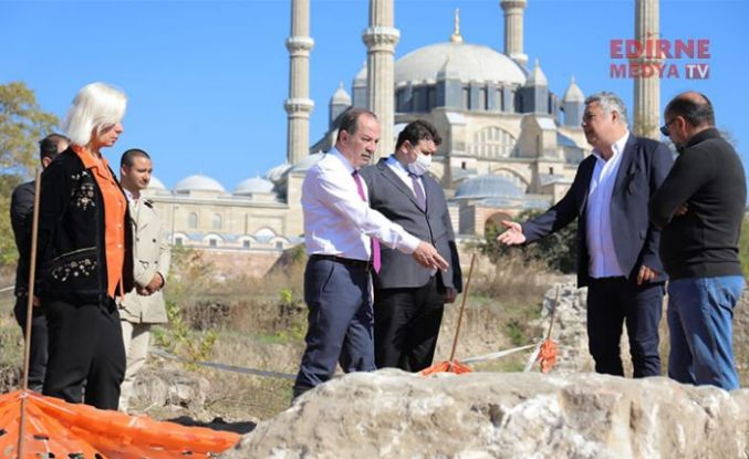 """Başkan Gürkan, """"Selimiye sevdamız"""""""
