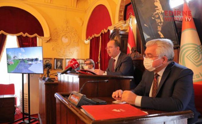 """Edirne Belediye Başkanı Recep Gürkan:  """"Edirne ne kazanacak, Selimiye ne kazanacak ona bakarım"""""""