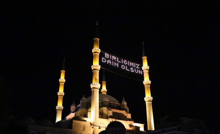 Selimiye'den sela okundu