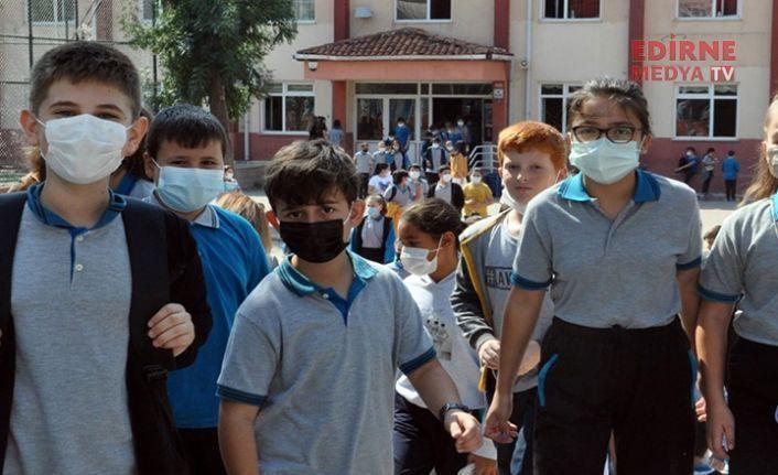 Edirne'de 10 okulda karantina